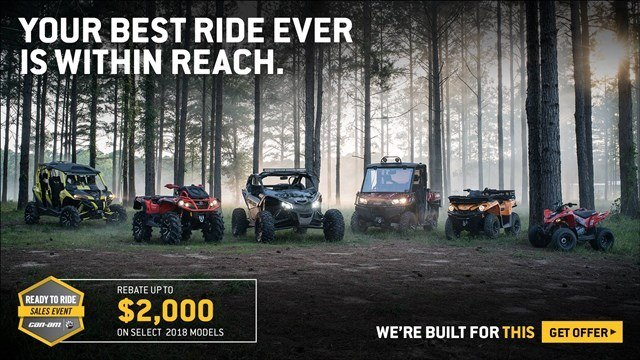 Can-Am - Ready To Ride Sales Event